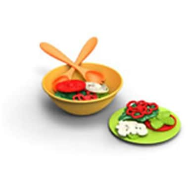Frontier Natural Products Green Toys Kitchen Playsets Salad Set - 2 (FNTR08398)