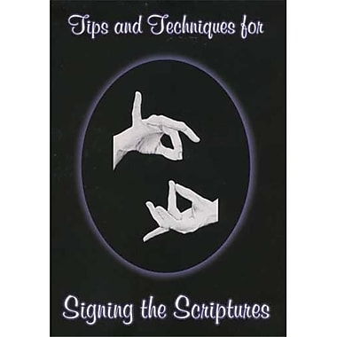 Cicso Independent Tips and Techniques for Signing the Scriptures (HRSC741)