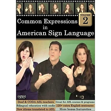 Cicso Independent Common Expressions in American Sign language Volume 2 (HRSC925)