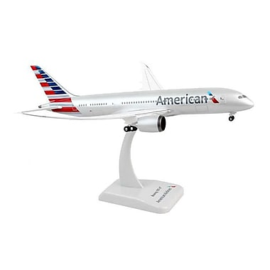 Hogan Wings 1-200 Commercial Models 1-200 American 787-8 with Gear and Inflight Wings (DARON12075)