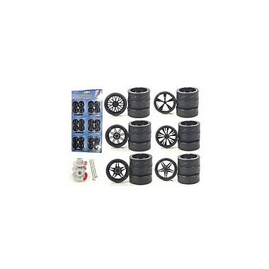 Diecast Custom Wheels for 1-18 Scale Cars and Trucks 24 Piece Wheels and Tires Set (DTDP2652)