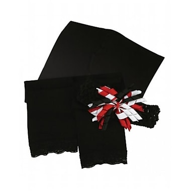 Stephan Baby leggings And Headband Set - Black (SPNB180)