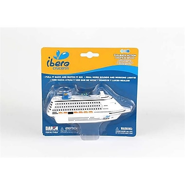 Toytech SKUNo. 792739-5 Ibero Pullback Cruise Ship (DARON12931)