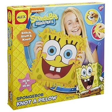 Alex Brands SpongeBob Knot A Pillow (AlxB474)