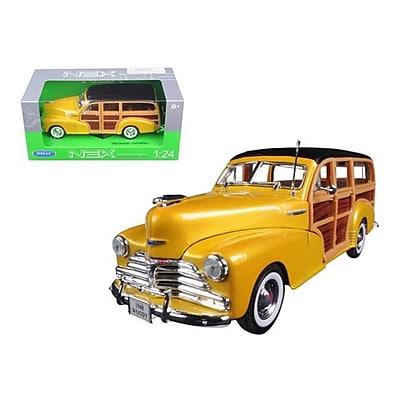 Welly 1948 Chevrolet Woody Wagon Fleetmaster Gold