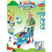 Az Import and Trading Shopping Cart Playset Blue (AZIMPT02506)