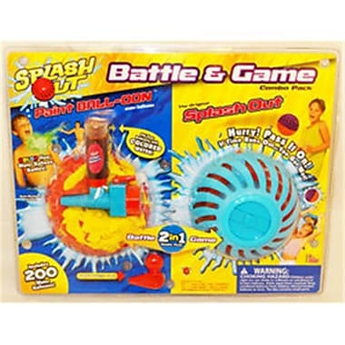 Big Time Splash Out Battle and Game Combo Pack - Pack of 4 (RKBM1850)