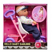 KS Toys Baby Darling with Tricycle Play Set (GRPS1067)