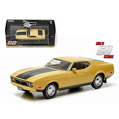Greenlight 1973 Ford Mustang Mach 1 Yellow Eleanor Gone in Sixty Seconds Movie 1974 1-43 Diecast Model Car (DTDP2118)
