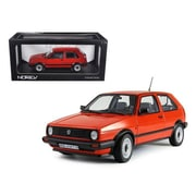 Norev 1984 Volkswagen Golf II Cl Red 1-18 Diecast Car Model (DTDP1293)