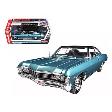 Autoworld 1967 Chevrolet Impala SS 427 Emerald Turquoise from Cover of Hemmings Magazine limited to 1254 Piece . 1-18 (DTDP1733)