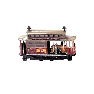 SHAN Collectible Tin Toy - Red Tram Car (AxNRT1834)