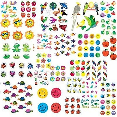 SIlVER lEAD CO- SANDYlION PRODUCTS GIANT VARIETY ASSORTMENT B STICKERS (lEARN0242)
