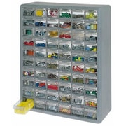 Stack-On Products 60 Bin Drawer Cabinet Grey DS-60 (ORGl69104)
