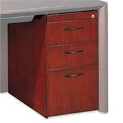 Mayline Group Pedestal- F- Credenza- Box-Box-File- 15in.x18in.x27in.- Mahogany (SPRCH29657)