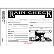 Centurion 3 Part Rain Check - 25 Pack (TRVAl59379)