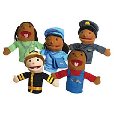 The Childrens Factory Career Puppets, 5 Per Set (SPRCH48177)
