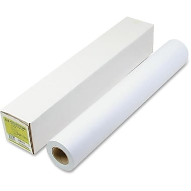 Hewlett Packard Designjet Inkjet large Format Paper, White - 42 in. x 150 ft. (AZTY06619)