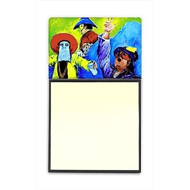 Carolines Treasures Mardi Gras Refiillable Sticky Note Holder or Postit Note Dispenser, 3 x 3 In. (CRlT60254)