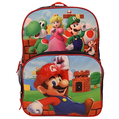 Accessory Innovations Nintendo Backpack, Blue, (S18NN36488-ST)