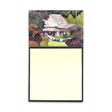Carolines Treasures Wash Day Refiillable Sticky Note Holder or Postit Note Dispenser, 3 x 3 In. (CRlT60162)