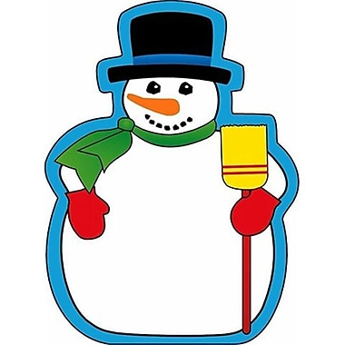 Shapes Notepad large Snowman (EDRE33681)