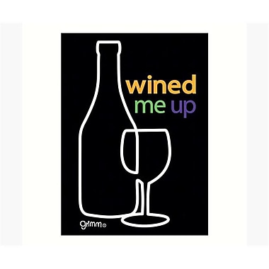 Grimm Magnet Humorous Saying Wined Me Note Pad (GC23017)
