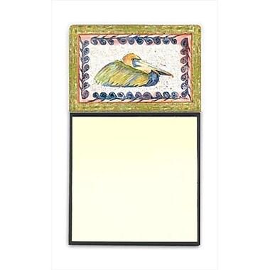 Carolines Treasures Bird - Pelican Refiillable Sticky Note Holder or Postit Note Dispenser, 3 x 3 In. (CRlT59959)