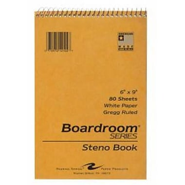 Roaring Spring Paper Products Steno Notebook - 72 Per Case (RSPRD329)