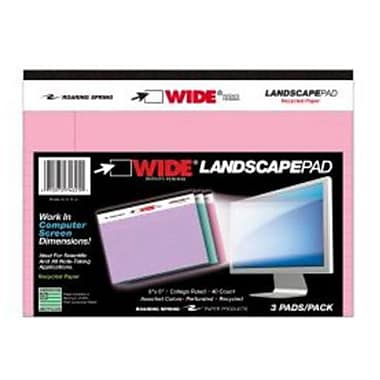 Roaring Spring Paper Products Colored landscape Pads - 24 Per Case (RSPRD300)