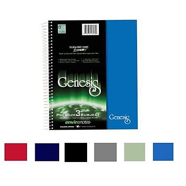 Roaring Spring Paper Products Genesis Three Subject Notebook - 150 Sheets Per Book (RSPRD200)