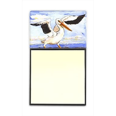 Carolines Treasures Bird - Pelican Refiillable Sticky Note Holder or Postit Note Dispenser, 3 x 3 In. (CRlT60010)