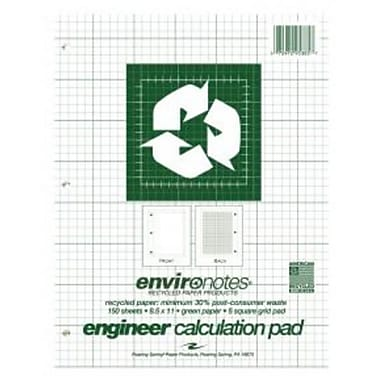 Roaring Spring Paper Products Recycled Engineering Pad - 24 Per Case (RSPRD428)