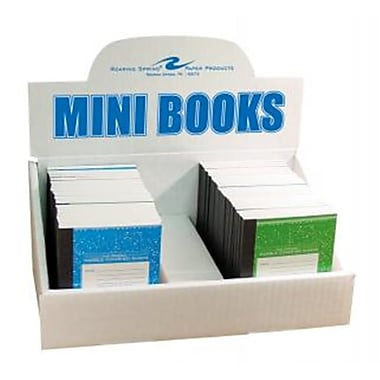 Roaring Spring Paper Products Mini Marble Display - 60 Sheets Per Book (RSPRD085)