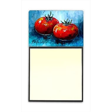Carolines Treasures Vegetables - Tomatoes Red Toes Refiillable Sticky Note Holder or Postit Note Dispenser, 3 x 3 In (CRlT60241)