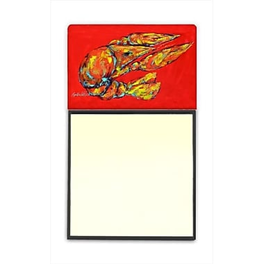 Carolines Treasures Reach for the Claws Refiillable Sticky Note Holder or Postit Note Dispenser, 3 x 3 In. (CRlT60264)