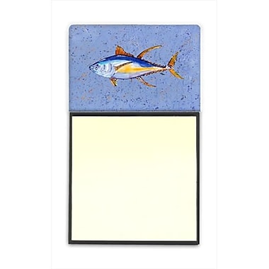 Carolines Treasures Tuna Fish Refiillable Sticky Note Holder or Postit Note Dispenser, 3 x 3 In. (CRlT60109)