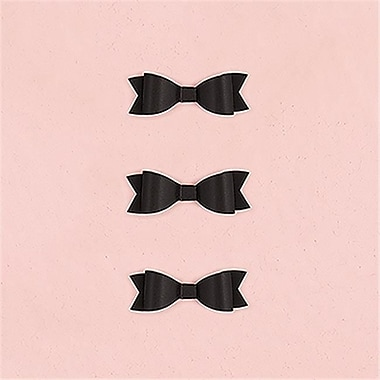 Wedding Star Miniature Classic Black Paper Bows (WED9403)