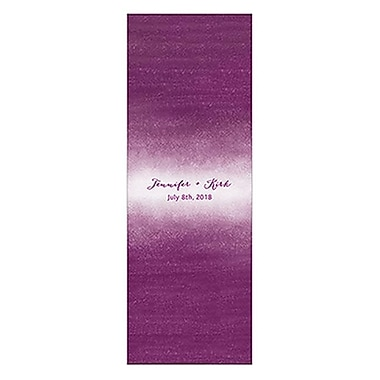 Wedding Star Aqueous Matchbox Favor Wrap, Bright Purple - Pack of 8 (WED9865)