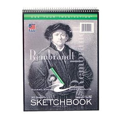 Roaring Spring Paper Products Sketch Book - 30 Sheet Per Book (RSPRD022)