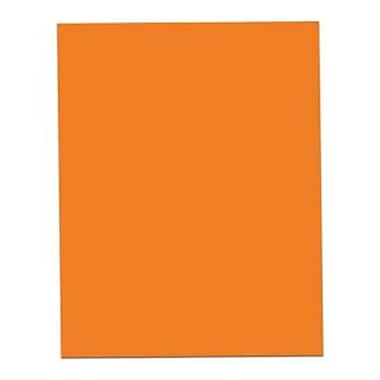Roaring Spring Paper Products Orange Posterboard - 25 Sheets Per Carton (RSPRD004)