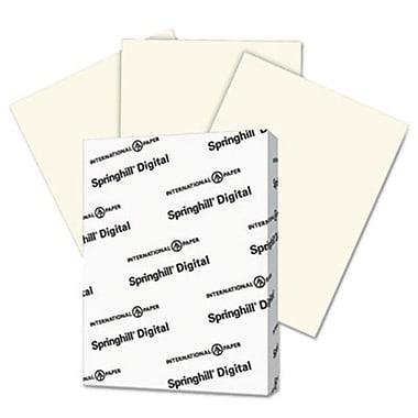 Springhill 8.5 x 11 Digital Vellum Bristol Color Cover - Cream (AZTY14850)