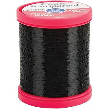 Coats - Thread and Zippers Transparent Polyester Thread 400 Yards-Smoke (NTMKGP4052)