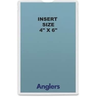 Anglers Company Self-Stick Crystal Clear Poly Envelopes (SPRCH46006)