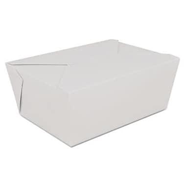 Sch ChampPak Retro Carryout Boxes, White - 7.3 x 5.5 x 3.5 (AZTY14036)