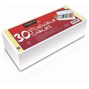 30Ct Sidewalk Chalk Best Buy Assortment (RTl146760) by