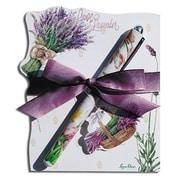 lissom Design Diecut Notepad - lavender Allure (lSD397)