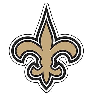 Fremont Die Diecut Window Film - New Orleans Saints (BSIPRODS3097)
