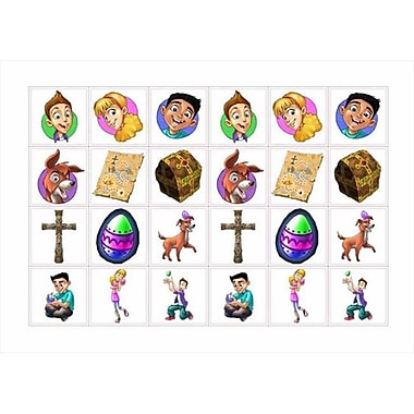 Egglo Entertainment Sticker Easter Adventure Character (ANCRD26962)