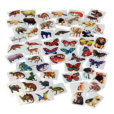 US Toy Company Mylar Sticker Asst/1152-Pc (2 Packs Of 1) 2628879